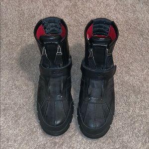 Black Polo Boots